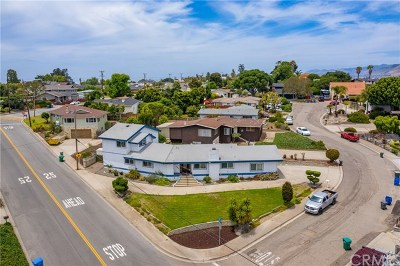 Grover Beach Single Family Home For Sale: 1 Angello