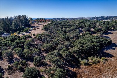 Pismo Beach, Arroyo Grande, Grover Beach, Oceano Residential Lots & Land For Sale: Moore Lane
