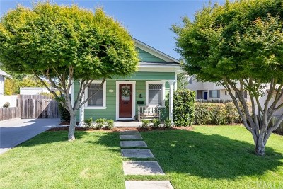 San Luis Obispo Single Family Home For Sale: 1253 Mill Street