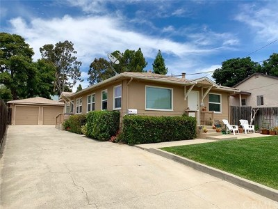 San Luis Obispo Single Family Home For Sale: 1260 Stafford Street
