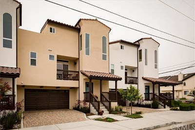 Pismo Beach, Arroyo Grande, Grover Beach, Oceano Condo/Townhouse For Sale: 594 Rockaway Avenue #C