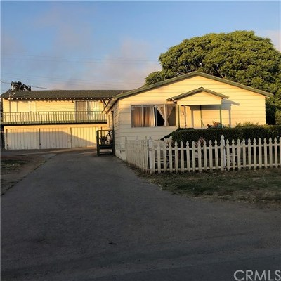 San Luis Obispo County Multi Family Home For Sale: 2160 Sunset Avenue
