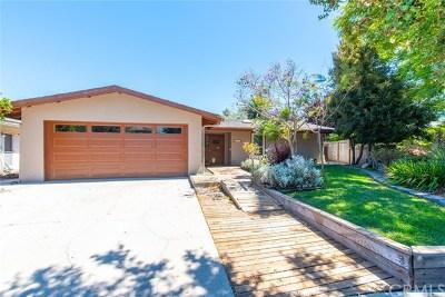 San Luis Obispo CA Single Family Home For Sale: $874,900