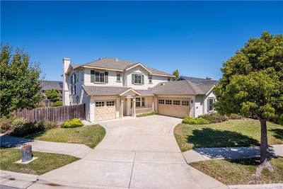 San Luis Obispo Single Family Home For Sale: 1660 Spooner Drive