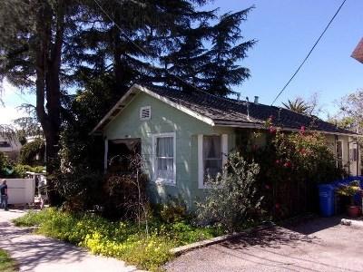 San Luis Obispo Single Family Home For Sale: 1020 Leff Street