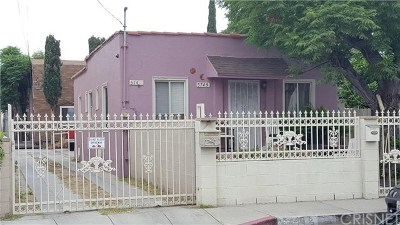 North Hollywood Multi Family Home For Sale: 5749 Klump Avenue