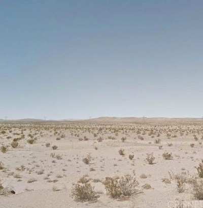 Barstow CA Residential Lots & Land For Sale: $136,000