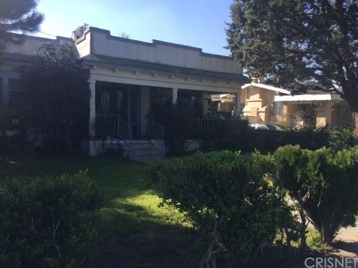 Los Angeles Single Family Home For Sale: 1716 W 43rd Place