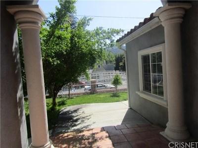 La Crescenta Single Family Home For Sale: 3135 Evelyn Street