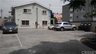 North Hollywood Multi Family Home For Sale: 11737 Runnymede Street