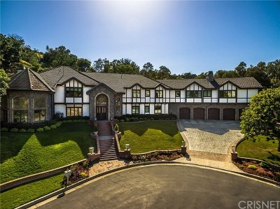 Brentwood, Calabasas, West Hills, Woodland Hills Single Family Home For Sale: 5195 Parkway Calabasas