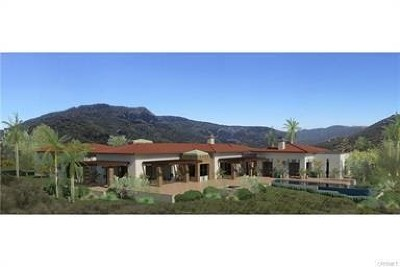 Agoura Hills Single Family Home For Sale: 29412 Malibu View Court