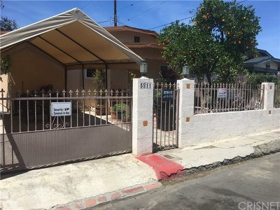 North Hollywood Single Family Home For Sale: 5811 Fair Avenue