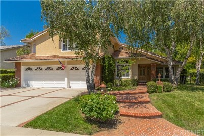 Westlake Village Single Family Home Active Under Contract: 32573 Fallview Road