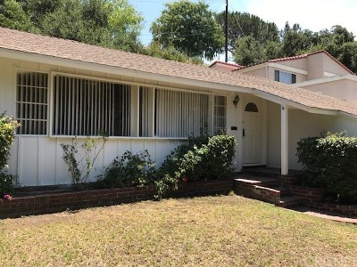 Glendale Single Family Home For Sale: 3132 N Verdugo Road