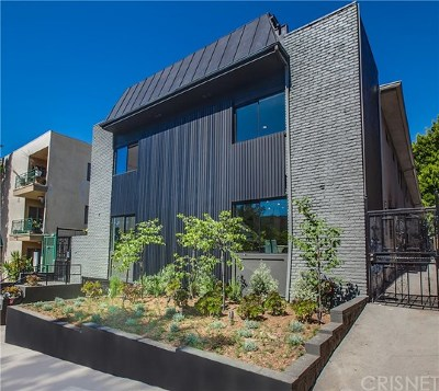 Hollywood Hills Condo/Townhouse For Sale: 1823 N Fuller Avenue #1