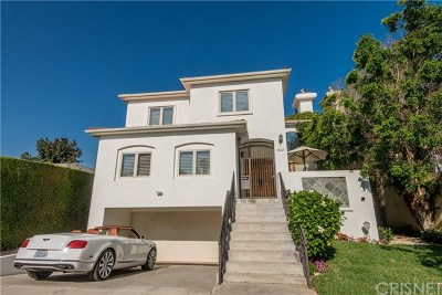 Studio City Single Family Home For Sale: 4322 Alcove Avenue
