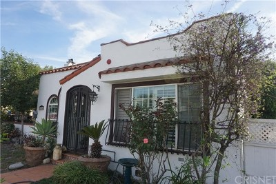 Glendale Single Family Home For Sale: 1014 Monterey Road