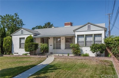 Burbank Single Family Home Active Under Contract: 935 N Evergreen Street