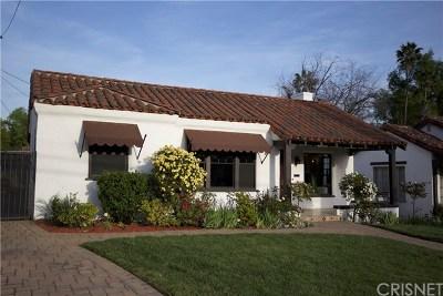 Pasadena Single Family Home For Sale: 1722 N Holliston Avenue