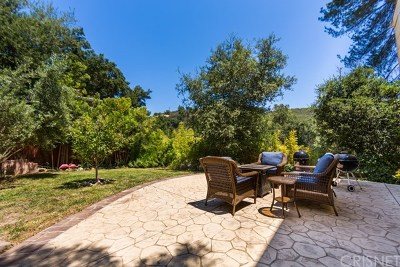 Topanga Single Family Home For Sale: 20922 Keller Road