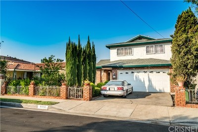 Sun Valley Single Family Home For Sale: 8814 Omelveny Avenue