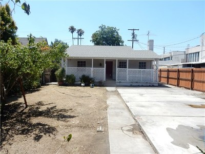 North Hollywood Single Family Home For Sale: 5559 Denny Avenue