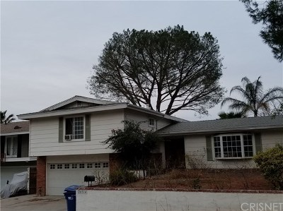 Newhall Single Family Home For Sale: 26514 Oak Crossing Road