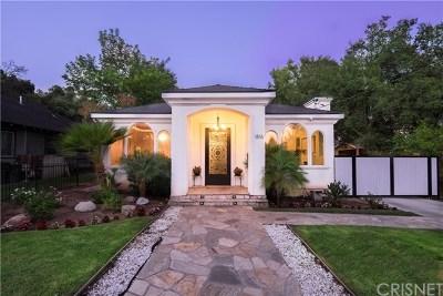 Pasadena Single Family Home For Sale: 1816 El Sereno Avenue