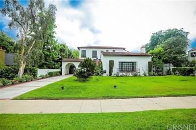 Burbank, Glendale, La Crescenta, Pasadena, Hollywood, Toluca Lake, Studio City, Alta Dena , Los Feliz Single Family Home For Sale: 2400 E Orange Grove Boulevard