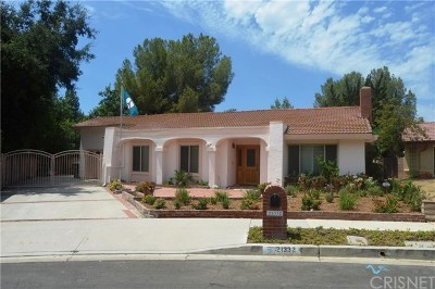Topanga Single Family Home For Sale: 21332 Bellini Drive