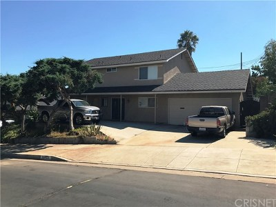 Sylmar Single Family Home For Sale: 12835 Wheeler Avenue