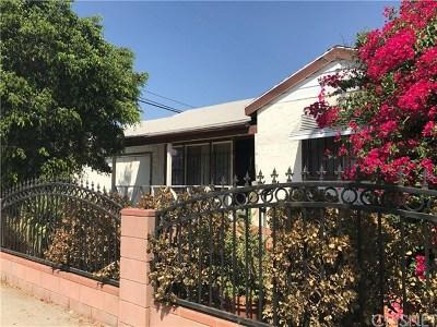 Sun Valley Single Family Home For Sale: 7940 Vineland Avenue
