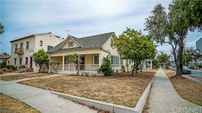 Glendale Multi Family Home Active Under Contract: 1100 E Harvard Street