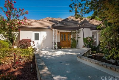 La Canada Flintridge Single Family Home For Sale: 5118 Alta Canyada Road