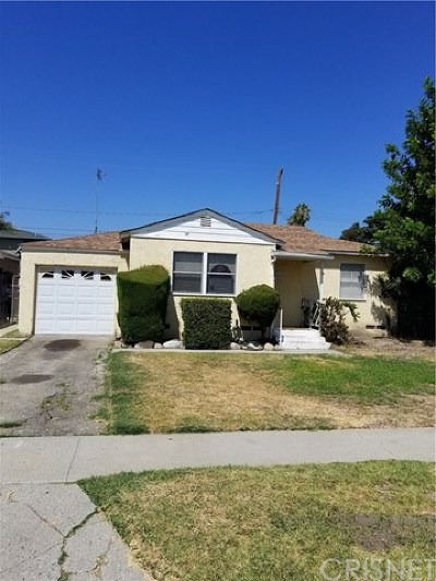 Compton Single Family Home For Sale: 1811 N Grape Avenue