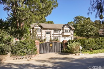 Single Family Home Active Under Contract: 21221 Mulholland Drive