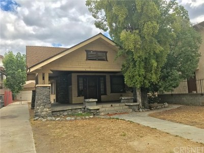 Glendale Single Family Home For Sale: 528 N Maryland Avenue