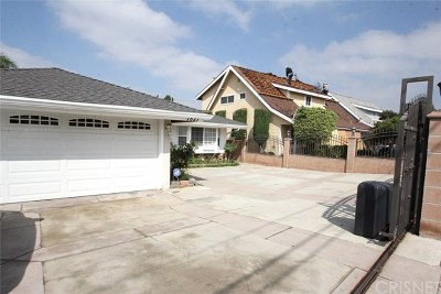 North Hollywood Single Family Home For Sale: 7821 Bellaire Avenue