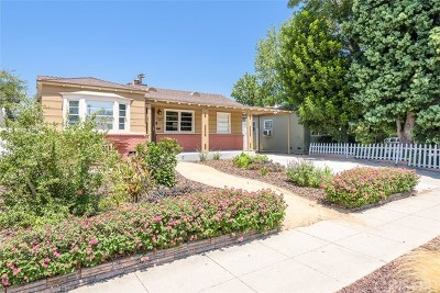 North Hollywood Single Family Home For Sale: 10809 Hartsook Street