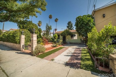Glendale Single Family Home For Sale: 1210 E California Avenue