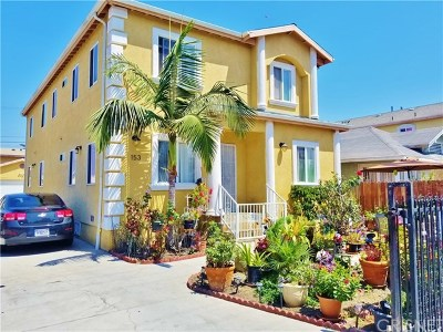 Los Angeles Multi Family Home For Sale: 151 W 91st Street