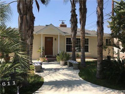 Burbank Single Family Home For Sale: 611 S Griffith Park Drive