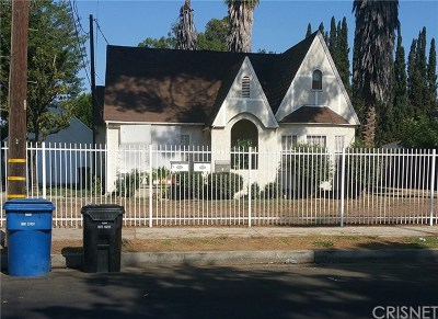 Van Nuys Single Family Home Active Under Contract: 6824 Tyrone Avenue