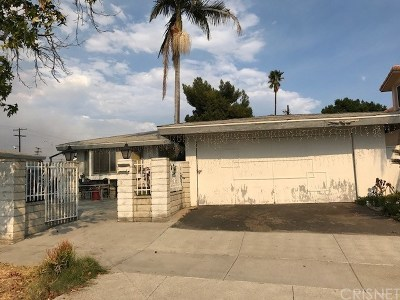 North Hollywood Single Family Home Active Under Contract: 7752 Van Noord Avenue