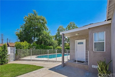 North Hollywood Single Family Home For Sale: 6455 Bakman Avenue