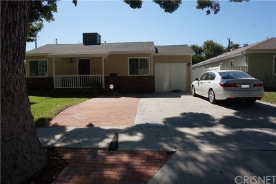 Burbank Single Family Home For Sale: 1505 N Fairview Street