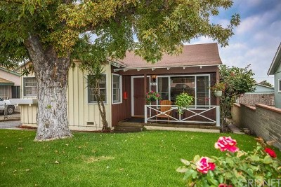 Tujunga Single Family Home Active Under Contract: 10511 Irma Avenue