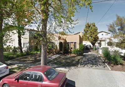 North Hollywood Multi Family Home Active Under Contract: 11013 Hesby Street