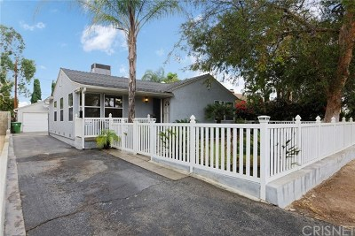 North Hollywood Single Family Home For Sale: 6034 Fulcher Avenue